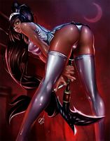 Nurse Akali by BornTewSlow