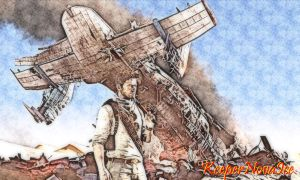 Uncharted 3 Wallpaper by KeeperNovaIce