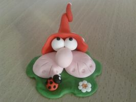 Foot-luck fimo by bimbalove81