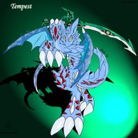 Tempest the swordmaster by dragoon86
