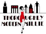 Thoroughly Modern Millie Logo by LittleCrabby