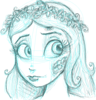 Corpse Bride by UnderCoverCottonswab