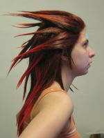 Axel Wig: Side View by pixiedustling