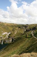 Tintagel Ruins 01 by neverFading-stock
