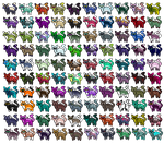 5 point 77 Chibi Cats open by Demon1cAdopts
