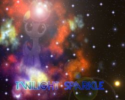 Twilight Sparkle in space by BronyYAY123