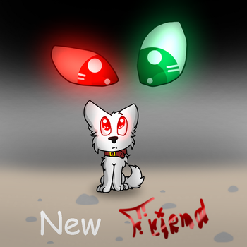 New Friend: Cover by Rosalin-Redd