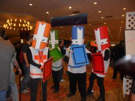 Castle Crashers by RokiaChan