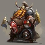 Torbjorn the Irongut by Mac-tire
