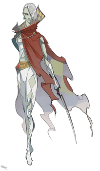 Demon Lord Ghirahim by WhiteFoxCub
