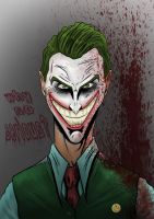 The Joker by LewisTillett