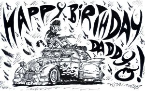TheHAPPYBIRTHDAY and The2CVrod by AtariPunk633