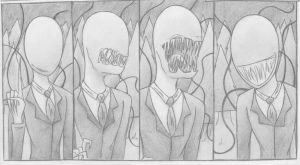 Slender's Mouth by FancySpiders