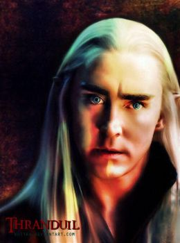 Thranduil - Lee Pace by Kot1ka