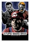 Stupid Mario Bros Session 5 poster by Tom-Inad-Ous