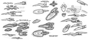 Starship Concepts by stourangeau