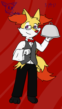 May Anthro Challenge: At Your Service! by SesshaXIII