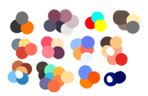 Color schemes for my Design contest by PawesomeSauce