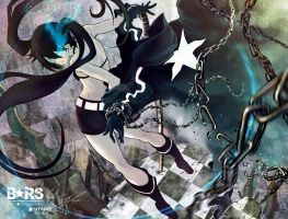Black rock shooter by YTNAS