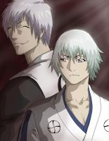 Shinzo and Ichimaru by CheshFire