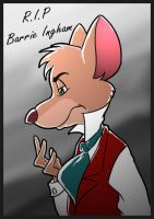 R.I.P Barrie Ingham - The Great Mouse Detective by doraemonbasil