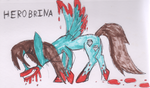 Herobrina pony by SilverGriffinflare
