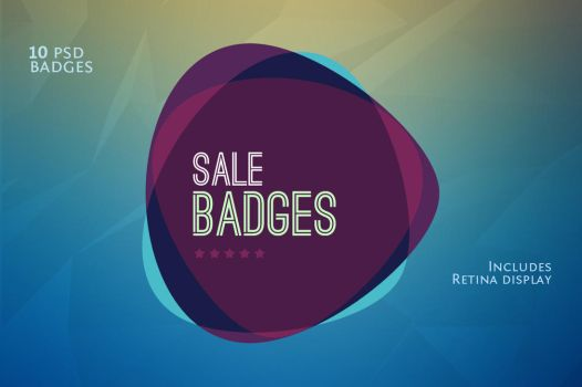 Sale and Discount Badges by loreleyyy