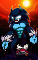 Sonic the Hedgewolf by Zulema