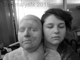 Ashleigh and Her Lifecast by edmalysfx
