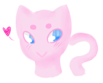 Mew by Ask-Ookami-2pEngland