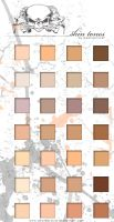 Skin Tones by deathprince