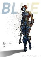 5C Project - Blue by ViperiumPrime