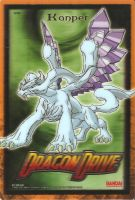 Dragon Drive 3d holo card 1 by Silverthe-Dragon