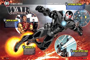 Marvel Universe War Machine by bennyfuentes