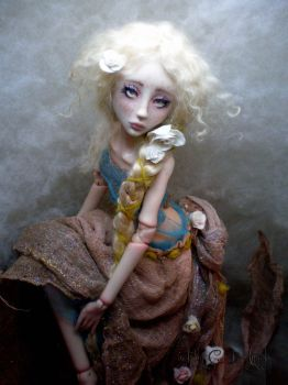 Rapunzel Ball jointed doll AA by cdlitestudio