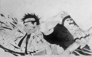 Naruto - Zabuza by Truthun96