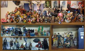 Figurine Collection: June 2012 by evilfuzzle2
