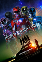 2017 Power Rangers Movie Poster (Fake). by AkiraTheFighter24