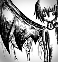 Crona Sketchy by AlliRyo