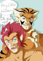 Thundercats - Hey little bro by Pandablubb