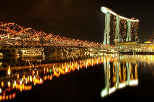 Marina Bay Sands 3 by linkahwai
