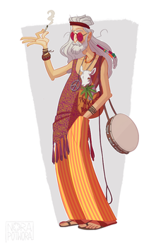 Steve the Hippie by norapotwora