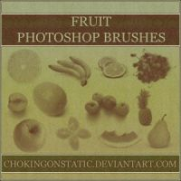 fruit brushes by chokingonstatic