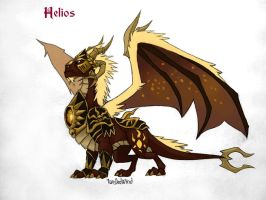 Helios, sun night by twisted-wind