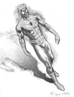Spider-Man Pencil 3 by ncajayon