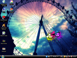 Skin Rainmeter Lentes_Date by LizeArtIsTheSoul