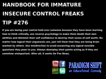 Control Freak Tip #276 by paradigm-shifting