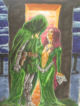 Von Doom and Le Fay by EvangelistaC