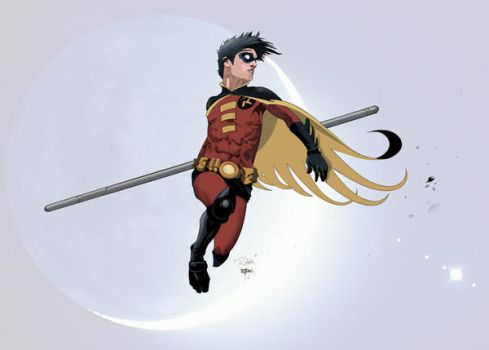 Robin in COLORS by Shadowgrail