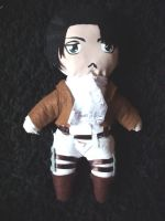 Rivaille Doll by my-name-is-magic